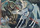 "Николай Майсторов, Цикъл 60 цветни литографии ""Дон Кихот"" - Сервантес, Унамуно"