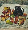 Натюрморт с плодове и кана / Still Life with Fruits