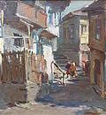 Улица със стари къщи / Street with Old Houses