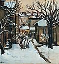 Софийски двор - зиме / Winter in Sofia