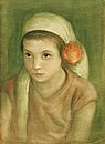 Момиче с цвете / Girl with a Flower